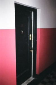 Crime Scene Apartment Door Exterior 1